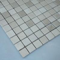 Stone Mosaic Tile Square Grey Pattern Washroom Wall Marble ...