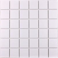 Wholesale Porcelain Floor Tile Mosaic White Square Brick