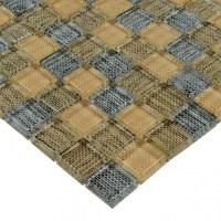 Glass Mosaic Tiles Blacksplash Crystal Mosaic Tile ...