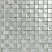 silver mirror glass tile crystal tile square wall ...