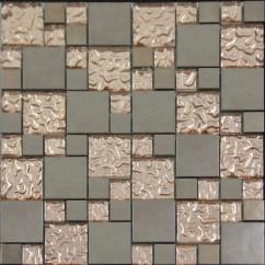 Kitchen Wall Tiles Design Large Islands Copper Glass And Porcelain Square Mosaic Tile Designs