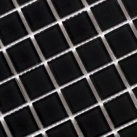 Wholesale Black Crystal Glass Mosaic Tiles Kitchen ...