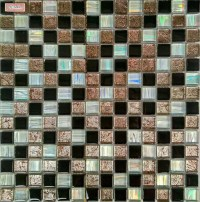 Iridescent Tile Glass Mosaic