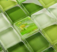 Wholesale Mosaic Tile Crystal Glass Backsplash Dinner ...