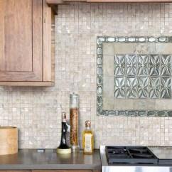Mosaic Kitchen Tile Turquoise Appliances Mother Of Pearl Backsplash Ideas St003