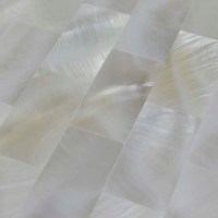 Wholesale Mother of Pearl Mosaic Tile with Porcelain Base ...
