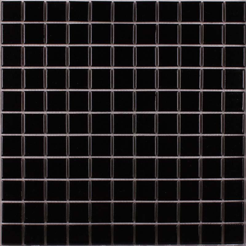 Wholesale Porcelain Tile Mosaic Black Square Surface Art