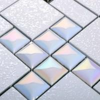 Wholesale Porcelain Mosaic Floor Tile Grey Square ...