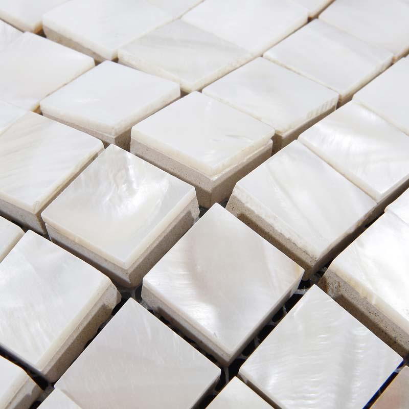 shell tiles kitchen backsplash ideas mother of pearl shower tile