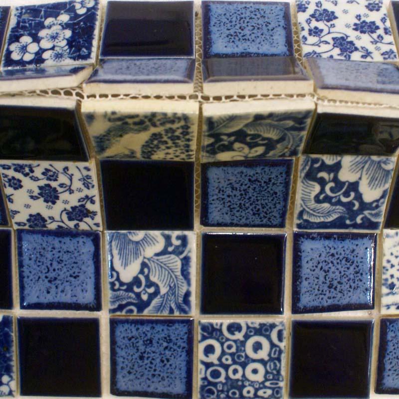 Kitchen Tiles Design Blue