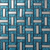 Wholesale Vitreous Mosaic Tile Crystal Glass Backsplash ...