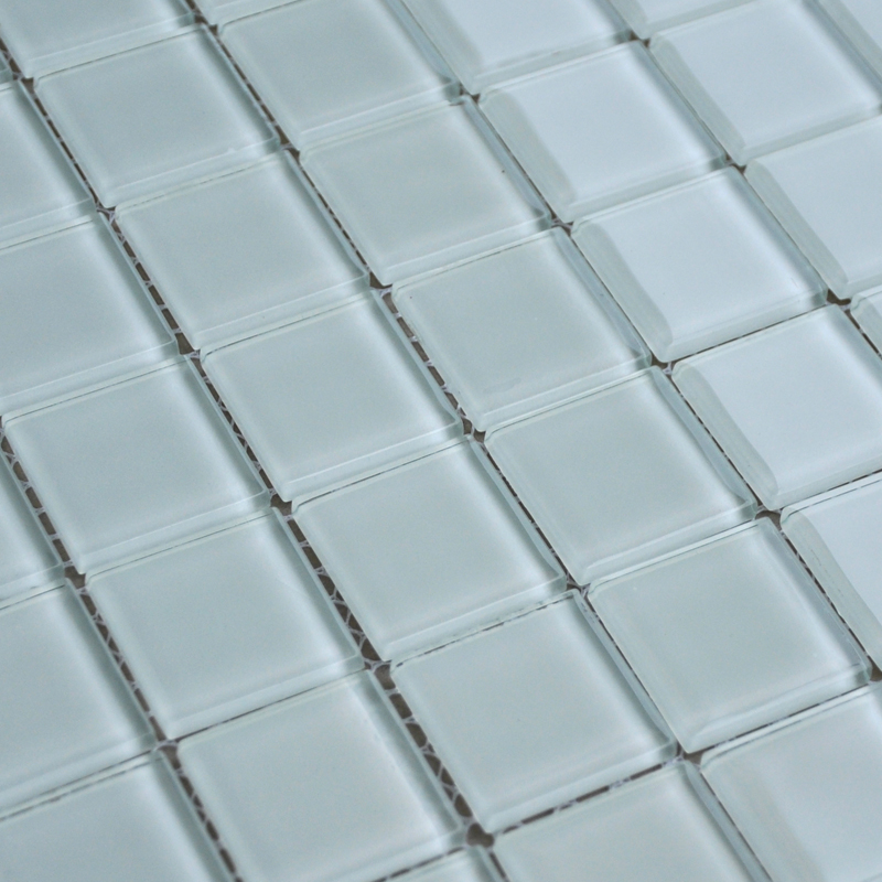 penny tile backsplash kitchen cabinet liner wholesale free shipping white crystal glass mosaic ...