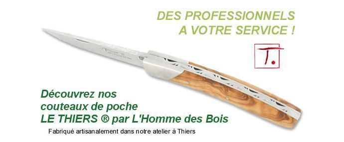 Couteau Cuisine Thiers France