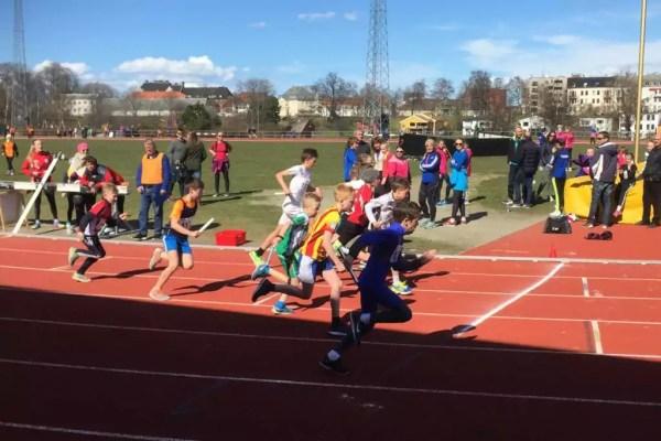 Olavstafetten - 3 medaljer til Hommelvik