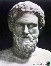 Aristófanes, autor de importantes comedias como Las Nubes.