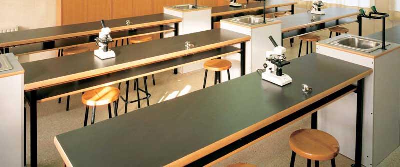 Mesas de laboratorio
