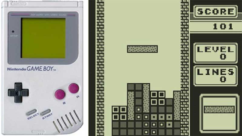 Primer Tetris Nintendo Gameboy