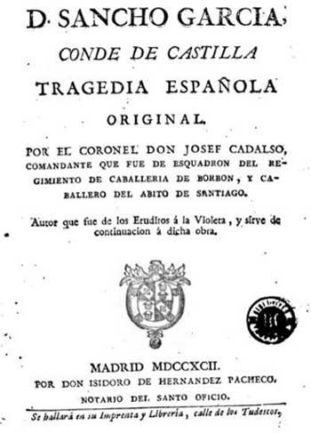 Don Sancho García Conde de Castilla