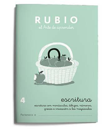 Cuadernos de escritura Rubio