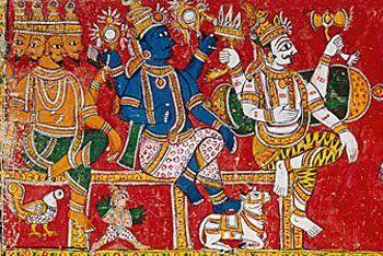 Trimurti: Brama Visnu y Shiva