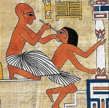 Odontología en el antiguo Egipto
