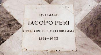 Jacopo Peri Opera Dafne