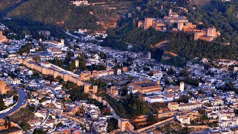 Murallas árabes del Albaizín
