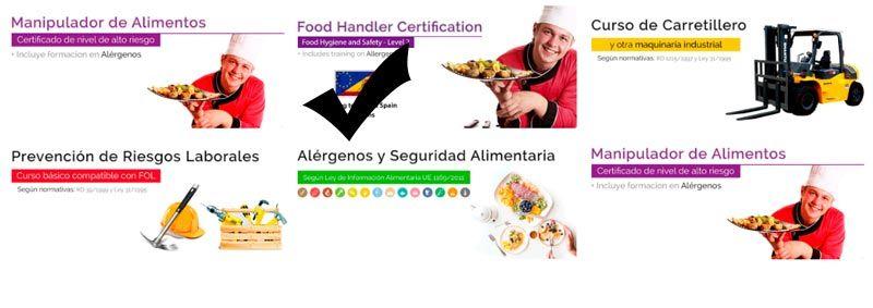 Food handler card