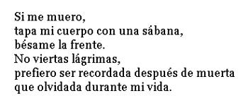 Poema cuando yo me vaya, Paloma Pérez del Pozo