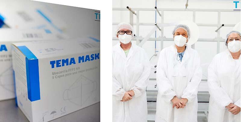 Mascarillas españolas FFP2 Mask