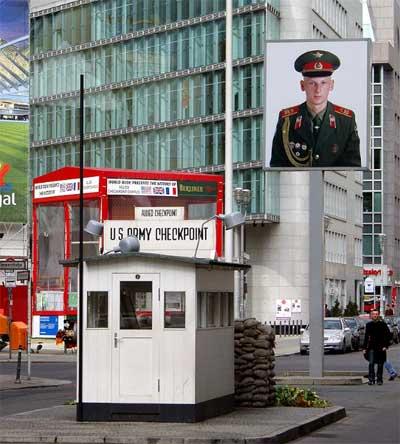 Checkpoint Charlie Berlín