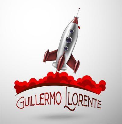 Logo escritor Guillermo Llorente