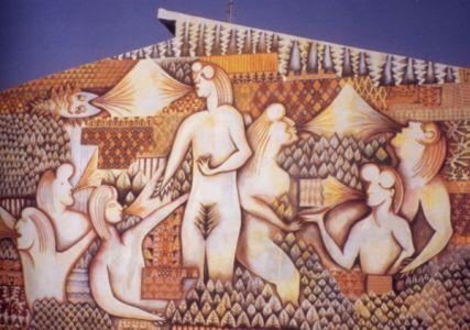 Allegoria delle forze generatrici della natura (Murale sardo)