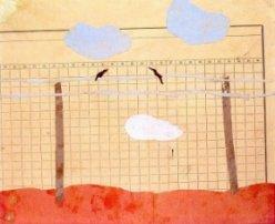 un disegno di Eva, anni 11 deportata a Terezin