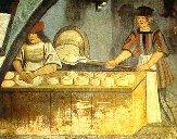 Lavorazione del pane nel Medioevo