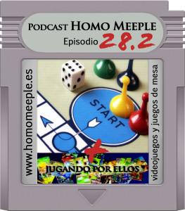 Portada Episodio 28 - segunda parte - juegos de mesa