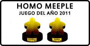 Homo Meeple: Juego del Año 2011