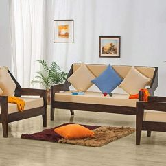 Wooden Sofa Designs For Living Room Velvet L Shaped Simple Set The Best Ones Homonk This Is Modern And Comfortable It Has An Elegant Design Which Will Enhance Look Of Your Sturdy A