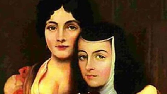 La virreina María Luisa Manrique de Lara y Gonzaga y Sor Juana Inés de la Cruz
