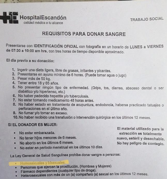 imss discriminar paciente VIH
