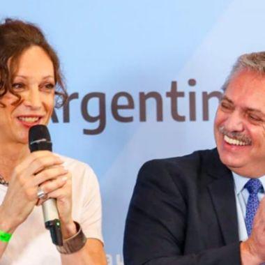 presidente argentina trans