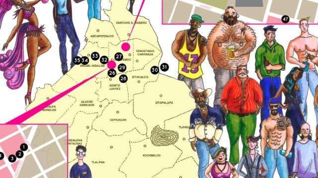 mapa CDMX antros gays portada