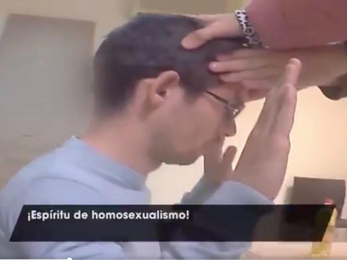 video exorcismo homosexualidad