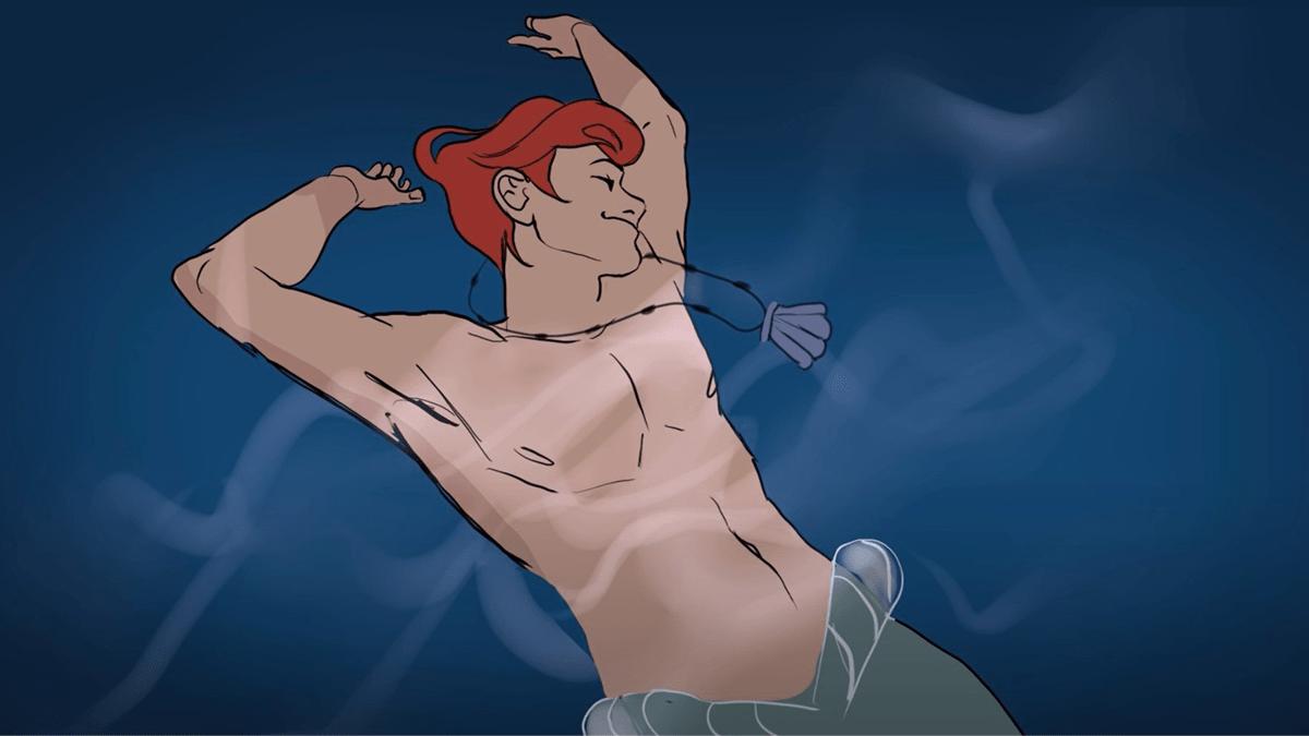versión-masculina-la-sirenita