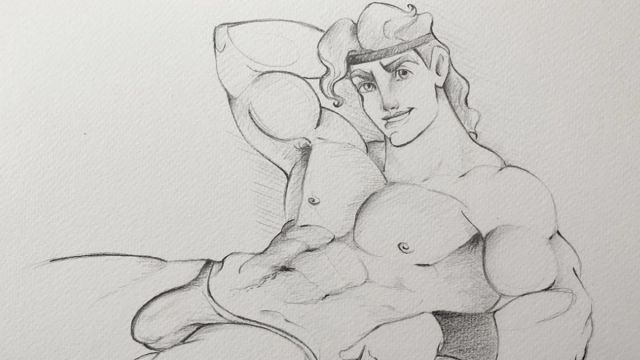 dibujos príncipes tom finland