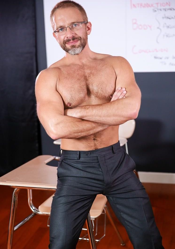 Actores de porno gay que se han disfrazado de profesores