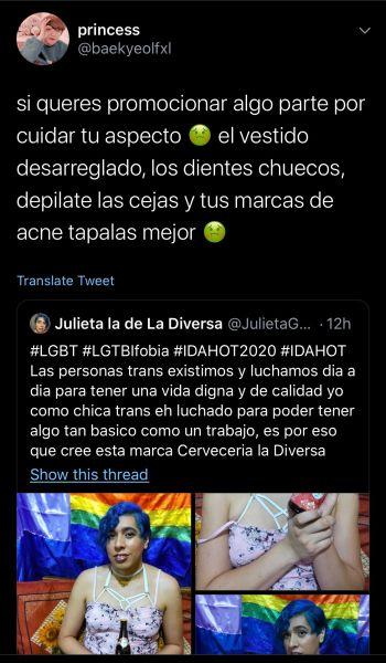 hate Julieta Twitter