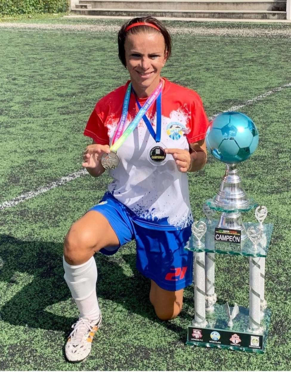 deportistas trans América Latina Miranda Salman Futbolista trans