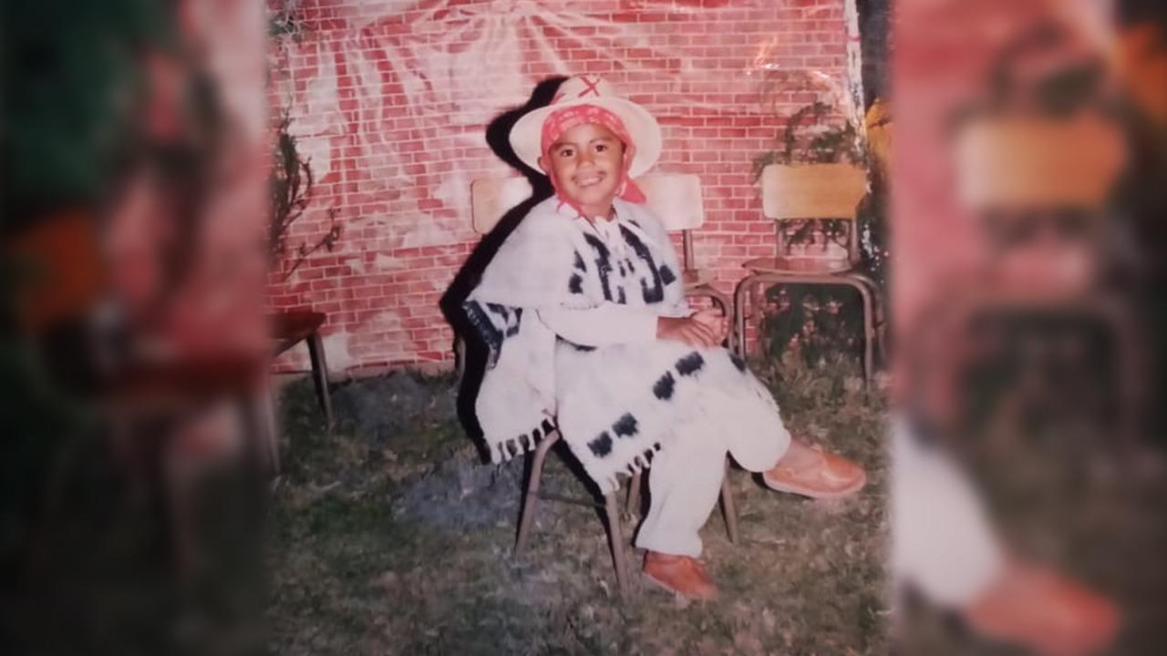 Desde esa edad sufrí por el racismo en México.