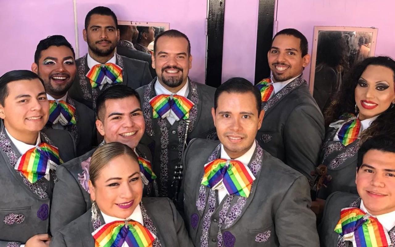 banda Mriachi Arcoíris LGBTQ+